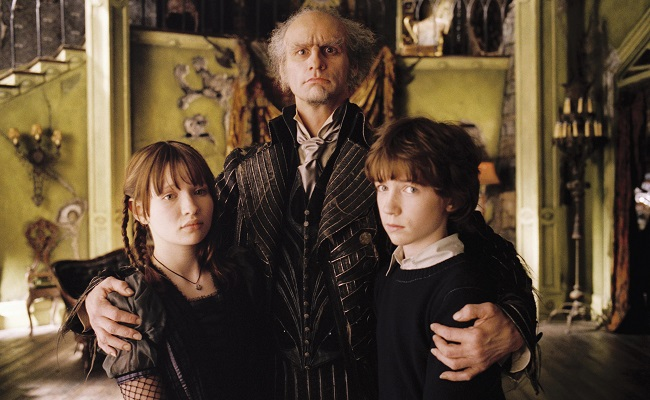Film Title: Lemony Snicket's: A Series of Unfortunate Events.